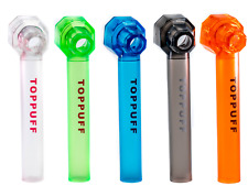 5 Pack random  colors Top Puff Portable Hookah   Bottle  Water Glass Bong Pipes