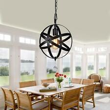 Plug In Ceiling Light For Dining Room Orb Pendant Hanging Swag Lamp Fixtures