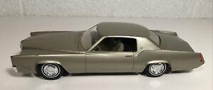 1967 Johan Cadillac Eldorado Dealer Promo Baroque Gold Metallic W Box Nice