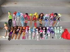 Huge Monster High Lot 29 Dolls Parts Wholesale Draculaura Clawdeen Boy Frankie