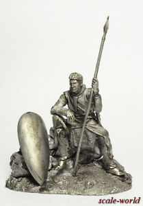 Tin soldier. The Norman Knight 1180 54 mm