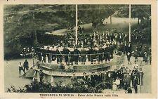 TERRANOVA DI SICILIA/GELA  - Palco della Musica nella villa 1927