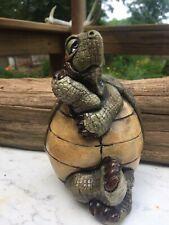 John Raya Beasties of the Kingdom Turtle/Tortoise Figurine, 1989