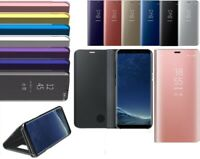 SMART MIRROR VIEW WALLET FLIP STAND CASE COVER FOR SAMSUNG GALAXY S8 / S8 PLUS