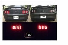 2010 - 2012 Mustang Vinyl Rear Deck Lid and 2013 Taillight Vinyl Conversion Kit