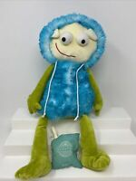 """Scentsy Buddy 16"""" Gilly Alien Dragon Monster Plush with By the Sea Scent Pack"""