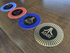 Atari Arcade Steering Wheel Center Decal Sticker - Pole Position - ALL 4 COLORS!