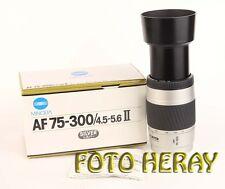 Minolta AF 75-300 mm 4,5-5,6 D für Sony Alpha Digital, guter Zustand 02410