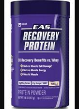 EAS Recovery Protein Vanilla 1.8lb + Free Shipping Expiry 2/2017