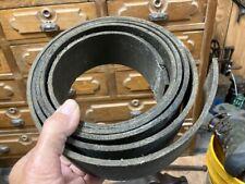 2 12 X 8 8 Hit Miss Steam Engine Flat Belt Blacksmith Line Shaft Vintage