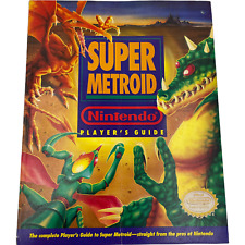 Official Nintendo Super Metroid Player's Guide Strategy Book SNES