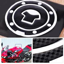 Tank Deckel Pad Schutz Tankpad Aufkleber Carbon Motorrad Tankschutz fit Honda