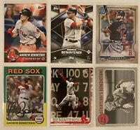 ⚾️Andrew Benintendi 6-CARD LOT including ROOKIE 2017 Topps Bunt #11