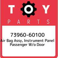 73960-60100 Toyota Air bag assy, instrument panel passenger w/o door 7396060100,