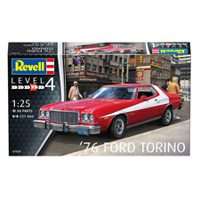 REVELL 1:25 1976 FORD TORINO Model Kit Voiture 07038