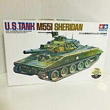 Tamiya 1/35 #89541 M551 US Airborne Cavalry Sheridan Tank motorized model kit
