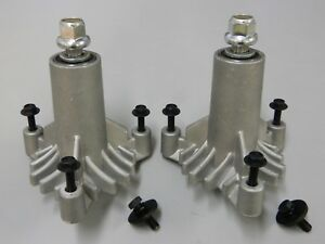 2 x SPINDLE ASSEMBLYS FOR HUSQVARNA & CRAFTSMAN MOWERS 532 13 07-94 SPINDLES