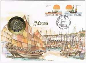 Numisbrief Macau - Munt Macau 1 pataca 1983