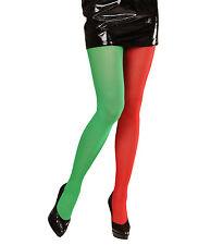 Calze Natalizie Bicolore Per Costume da Elfo   *04241