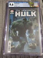 Immortal Hulk #1 CGC 9.8 Clayton Crain 1:25 Variant Marvel Comics NM 1st Print