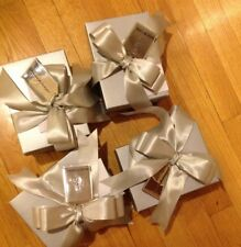 4 Neiman Marcus Small Gift Boxes Gift Tag Oh What Fun Its To Give Trinket New
