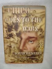 1943 Hardcover Chico Goes To The Wars by David Ormsbee Book Club Edition