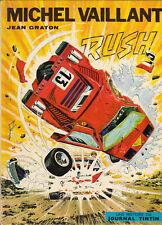 Michel Vaillant 22. Rush. GRATON 1972. TTB