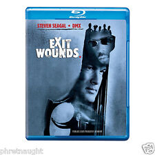 EXIT WOUNDS BLU-RAY - STEVEN SEAGAL - DMX - AUTHENTIC US RELEASE