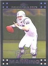 2007 Topps Chrome Peyton Manning Indianapolis Colts #TC5 Football Card
