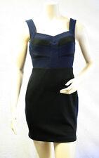 $128 BCBG GENERATION BLACK COMBO SLEEVELESS BANDAGE DRESS NWT 8
