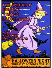 The Wedding Presents Versus Radiolaria 1996 Concert Poster By Frank Kozik S/N