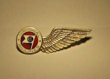 1940's NATIONAL AIRLINES Personal Representative Badge 1st Issue (RARE & NICE!)