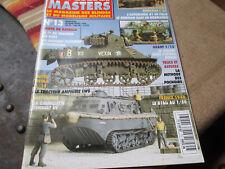 Steel Masters Vol 13 Feb-Mar 1996 French language Military Modeling Magazine