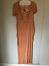 Jo Jr Dallas Vintage Boho Belted Peasant Dress. Size 5