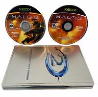 Halo 2: Limited Collector's Edition (Microsoft Xbox, 2004) No Manual- Free Ship