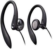 Philips Shs3300bk In-ear Earhook Headphones (wearing Comfort Stability Black