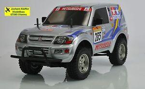 Tamiya Mitsubishi Pajero V60 Rallye Sport Bausatz NEU OVP !