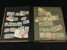 Old Time Stockbook Packed w/Mostly Mint Czechoslovakia Stamps, Souvenir Sheets+