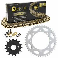 Sprocket Chain Set for Kawasaki KLR650 15/43 Tooth 520 X-Ring Front Rear Combo