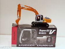Hitachi EX200 Excavator - 1/40 - Shinsei - Japan - N.MIB
