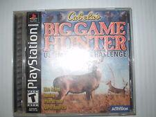 PLAYSTATION CABELA'S BIG GAME HUNTER ULTIMATE CHALLENGE USED UNTESTED