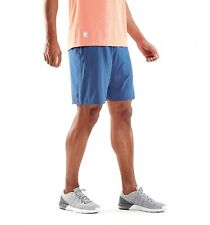 """Skins Men's 7"""" Activewear Running Shorts Blue Size L (New with tags)."""