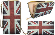 Damen Geldbörse  Damenbörse Geldbeutel Börse Portemonnaie Flagge England Wallet