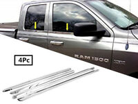 FOR 2009-2019 Dodge Ram 1500 Quad Cab Stainless Steel Chrome Window Sill Trim