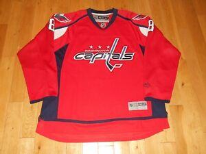 Reebok Premier Alex Ovechkin WASHINGTON CAPITALS Mens Sewn NHL Team JERSEY XXL