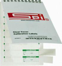 New SPI Mini Calibration Labels Green/White 144qty. Free US Shipping