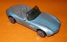Modellauto Matchbox BMW Z8 50 Jahre hellblau metallic