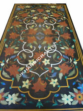 "52"" x 30"" Marble Table Top Center Semi Precious Handmade Work Home Decor"