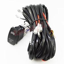 "2 LEAD Wiring Harness ""LED LIGHT BAR"" Rocker Switch For Polaris Can-am UTV 300W"
