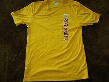 Hanes CoolDri, men's medium, gold, racquetball graphic t-shirt